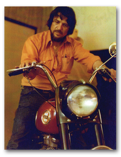 Waylon Jennings Family to Auction Off Buddy Hollys Motorcycle